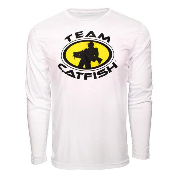 Team Catfish Long Sleeve White Hoodie